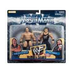 WWF Wrestlemania XV - 1998 - Grudge Match Series - Stone Cold Steve Austin vs Vince McMahon Action Figures - w/ Bonus Official Match Trading Card - Jakks - Limited Edition - Mint - Collectible by Jakks Pacific