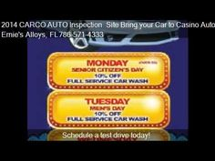 2014 CARCO AUTO Inspection Site Bring your Car to North Miami Florida