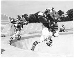 Steve Caballero and Mike Mcgill,Livingston Skate Park,Scotland