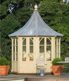 Lavenham Lead Roof Summerhouse