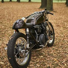 Eastern Spirit's Suzuki GS550 cafe racer