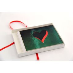 Heart Holiday Cards. Christmas Cards with Envelopes. Happy Holidays. ($15) ❤ liked on Polyvore featuring home, home decor and stationery