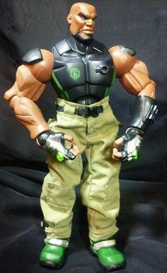 "GI Joe Sigma 6 Commando Heavy Duty 8"" Action Figure HTF six Artillery   #Hasbro"