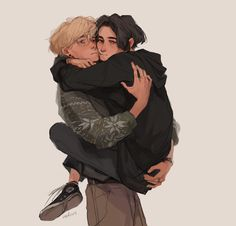 Our goal is to keep old friends, ex-classmates, neighbors and colleagues in touch. Character Inspiration, Character Art, Art Sketches, Art Drawings, Japon Illustration, Dibujos Cute, Couple Art, Gay Art, Drawing Poses