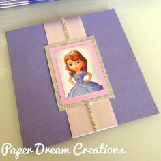 Sofia The First invites by PaperDreamCre on Etsy, $4.50