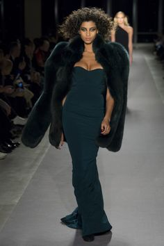 See the complete Brandon Maxwell Fall 2017 Ready-to-Wear collection.