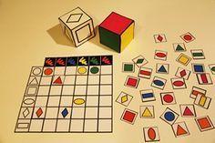 Tableau double entrée jeu math. avec planches individuelles. Remplir sa planche le 1er pour gagner