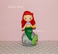 Cute baby like little mermaid