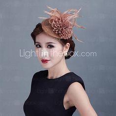 Women Wedding Party Sinamay Feather Fascinators Sfc02062 2841866 2016 28 59 Grey Fascinator Headpiece