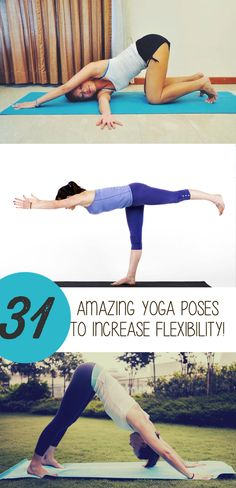 Fitness: 31 Best Yoga Poses To Help Increase Your Flexibility!