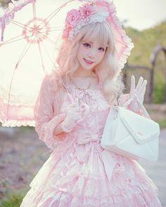 I got: Hime Lolita! Which type of Lolita are you? Japanese Street Fashion, Tokyo Fashion, Harajuku Fashion, Kawaii Fashion, Cute Fashion, Asian Fashion, Harajuku Girls, Rock Fashion, Girl Fashion