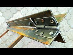Homemade Tools, Diy Tools, Welding Projects, Diy Wood Projects, Sheet Metal Brake, Metal Bending Tools, Construction Tools, Metal Garden Art, Must Have Tools
