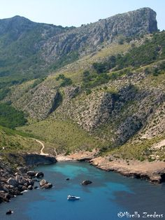 North of Mallorca in between the mountains this great looking cala