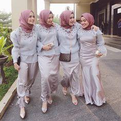 Hijab Bridesmaids Inspiration | @terosha