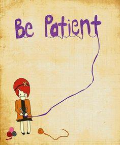 TUTTO COMINCIÒ CON IL PRECARIATO LAVORATIVO ( il resto mi è franato addosso): Visione dell'aura: la pazienza è essenziale | Vari...