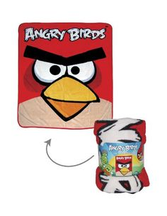 "Angry Birds 50"" X 60"" Throw, 2015 Amazon Top Rated Toy Sports #Home"
