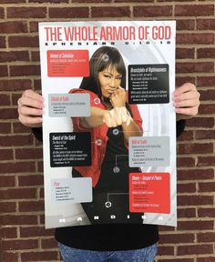 The Whole Armor of God 11x17 Poster