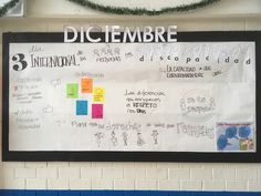 Periódico mural Día de la Discapacidad Barber, Ideas Para, Murals, Decorations, Inclusive Education, Disability, Teaching Aids, December, Beard Trimmer