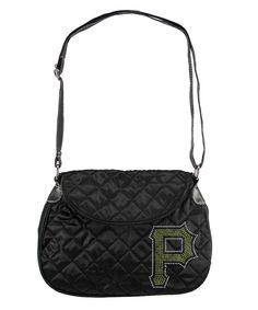 Pittsburgh Pirates MLB Sport Noir Quilted Saddlebag