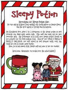 Christmas Sleepy Pot