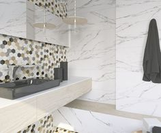 ARCANA Tiles | Narvi Multicolor | Thalassa series | flooring | Porcelain tile | marble inspiration | interior design