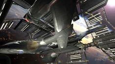 NX refit leaving dry-dock by Doug Drexler via Ships Of The Line: Active Duty! 2014 | vimeo