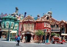 Toontown Disneyland CA This is very fun for adults and children. A must see at the part.