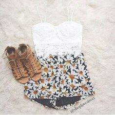 Flower outfit