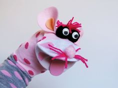 Maňásek ponožkáček myška. č.1046 https://www.fler.cz/emilly-emm-2