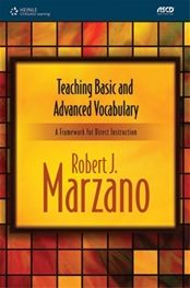 Another Robert J. Marzano book- King of Vocabulary Instruction