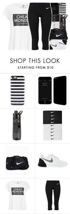 """""""•"""" by abigail-petion ❤ liked on Polyvore featuring Kate Spade, NIKE and Cheap Monday"""
