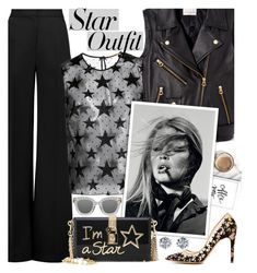 """Star Outfit !"" by euafyl ❤ liked on Polyvore featuring Roksanda, Opening Ceremony, Yves Saint Laurent, Dolce&Gabbana, Gucci, Rupert Sanderson, Ferrucci, be and StarOutfits"