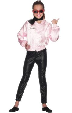 <p>Start your own Pink Ladies posse in this super cute girls Grease costume by Smiffy's. This Pink Ladies fancy dress <strong>costume for girls</strong> is a great for a movie costume idea! See below for further details.</p>