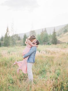 Adorable engagement session in the hills: Photography: Julie Paisley - www.juliepaisley.com   Read More on SMP: http://www.stylemepretty.com/2017/04/13/the-only-thing-better-than-that-view-is-this-insanely-cute-couple/