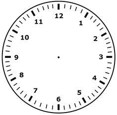Klokkijken met stift wijzers tekenen en weer wissen met een doekje – lege analoge klok – www.nazia.nl – De klas enzo…