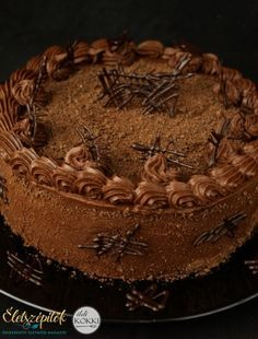 Confectionery, Yummy Cakes, Tiramisu, Food And Drink, Sweets, Baking, Ethnic Recipes, Desserts, Birthday Cakes