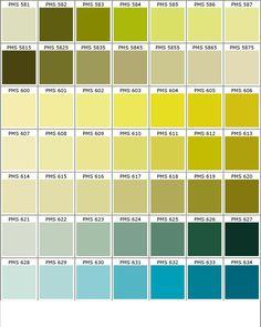 Nuancier tollens 40 couleurs peinture chez castorama pantone et salons - Color design tollens ...
