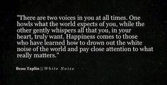 Beau Taplin||White Noise