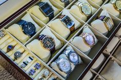 Jewelry Organization - Wristwatch storage - Watch storage organization