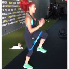 """645 Likes, 36 Comments - Hannah Eden (@hannaheden_fitness) on Instagram: """"#MONSTERMONDAY – 10.10.16 [3:1 work:rest] A. 30s: Toe Taps [10s Rest] 60s: MB Squats [20s Rest]…"""""""