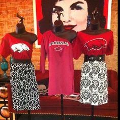 Game Day Dresses by Fantabulous Fan - Arkansas Razorbacks
