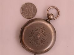 CIVIL WAR POCKET WATCH PRESENTED TO JEREMIAH A. SULLIVAN, KILLED IN ACTION AT CABLETOWN, WEST VIRGINIA WHILE SERVING AS A MAJOR IN THE 1ST NEW YORK VETERAN CAVALRY.