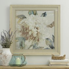 Today ONLY, this Morning Peony I Framed Art Print is $20 off! It's pair, Morning Peony II is also $20 off. Purchase these for $59.00 each on 7/7 only.
