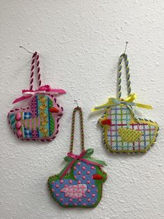 needlepoint chicks, ?Associated Talents canvases?
