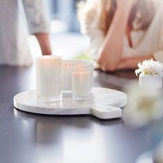 Cause Monday's can look good.... The Celebration candle collection.... LOVE. #ecoya #candles #celebrationcandle #grandcelebration #minicelebration #love #homefragrance