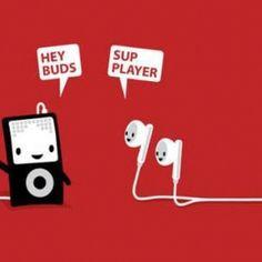 A playful pun.