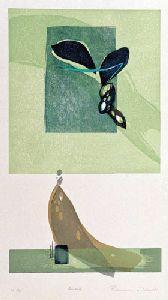 TAKAHASHI,Rikio, Saiho-ji, 1972, ed. 10, 52 x 28.5 cm, ±905