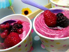 Sorbet minute au yaourt à la grecque (Thermomix)