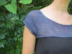 Duo Fiberworks - Duo Fiberworks - Free Pattern: Knitted yoketop