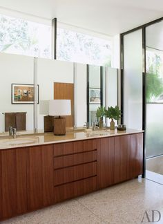 Modern Bathroom by Brad Dunning Design in Beverly Hills, California